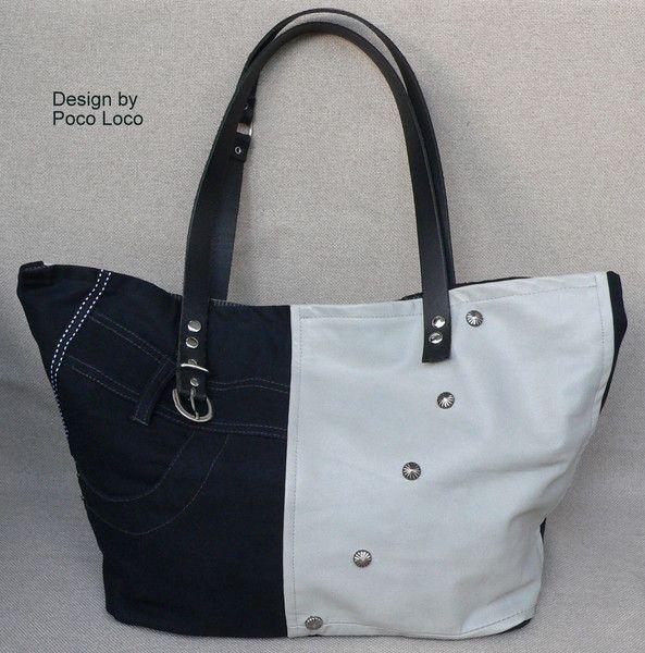 Handtasche ● Upcycled  ●  Unikat Poco Loco von Poco Loco auf DaWanda.com