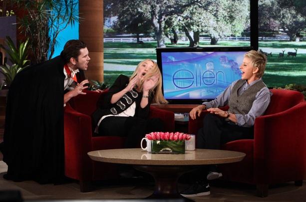Dakota Fanning on the Ellen Degeneres Show