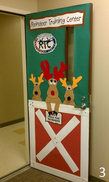Redstone Test Center Gets In The Holiday Spirit With Door