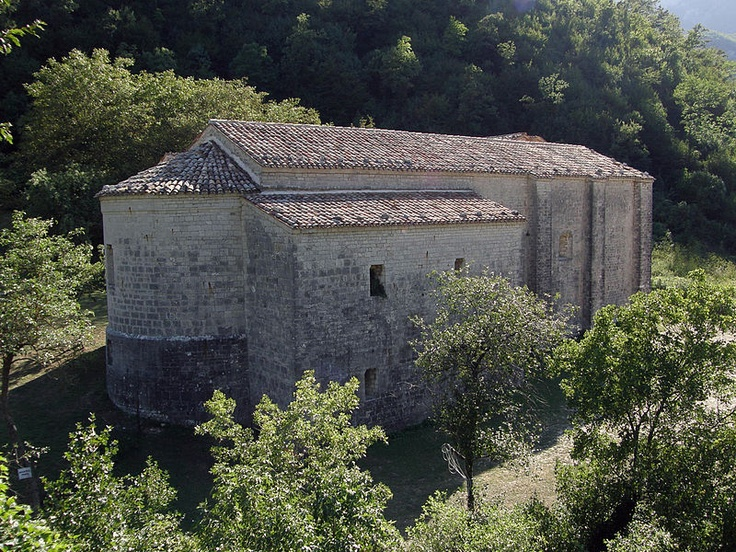 Scheggia e Pascelupo, Umbria ~ Abbey of St. Mary of Styria, on the Mount Cucco