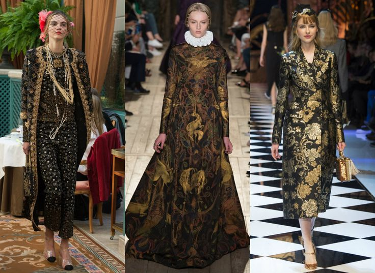 Ornamentowe trendy - wiktoriańskie zdobienia na wielkie wyjście