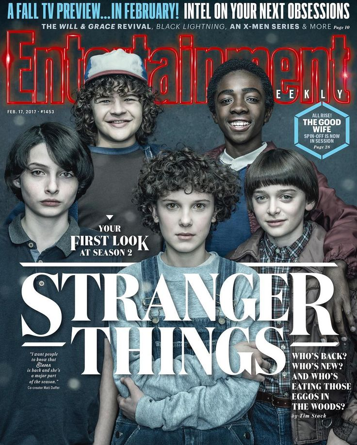 Entertainment Weekly: Stranger Things season 2