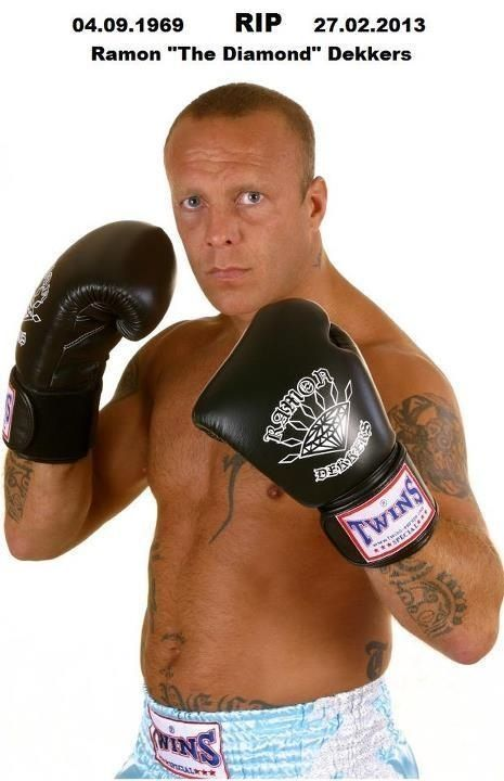 The destroyer demolition man Ramon Dekkers