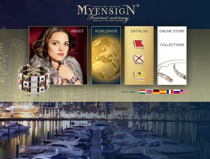 www.myensign.eu #sailing #yachting #jewelry #boating