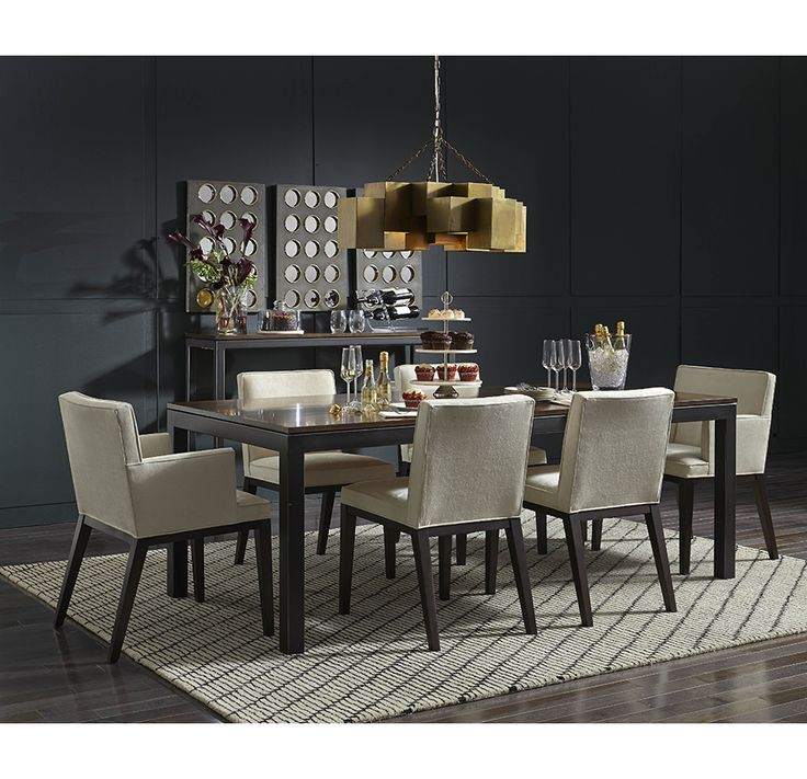 12 Best Images About Dining Rooms On Pinterest Stainless Steel Dining Sets