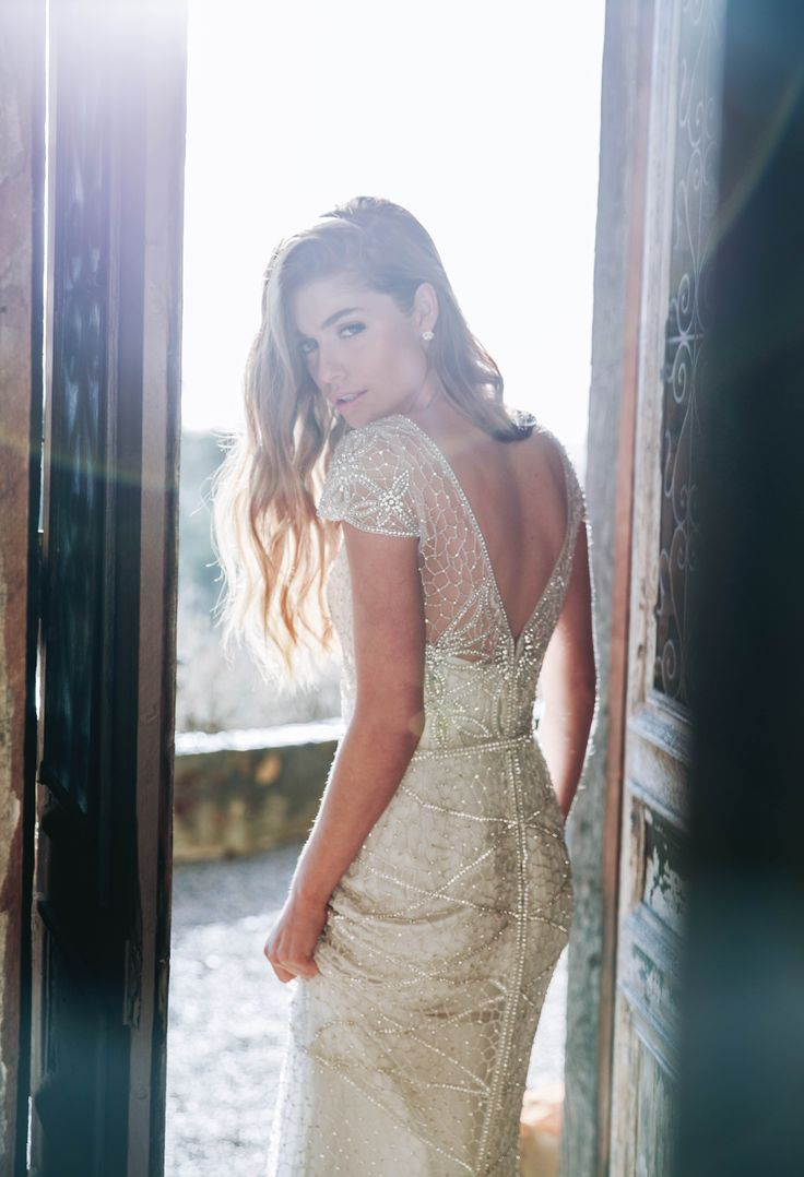 Anna Campbell Ceremony Collection Vienna Embellished Wedding Dress