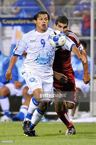 Rudis Corrales of El Salvador controls the ball against Canada during a CONCACAF Gold Cup match at Crew Stadium on July 7 2009 in Columbus Ohio