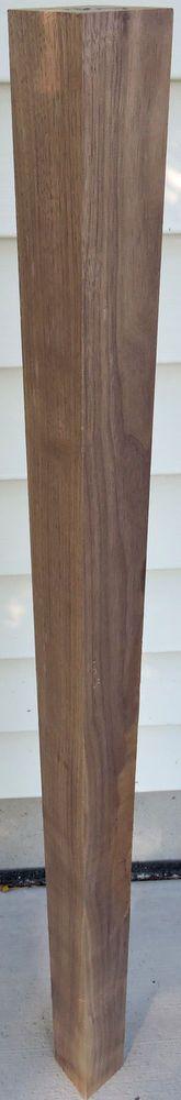 Black Walnut Lumber 3x3x36 Walking Can Making Pool Cues Furnitures Table Legs…
