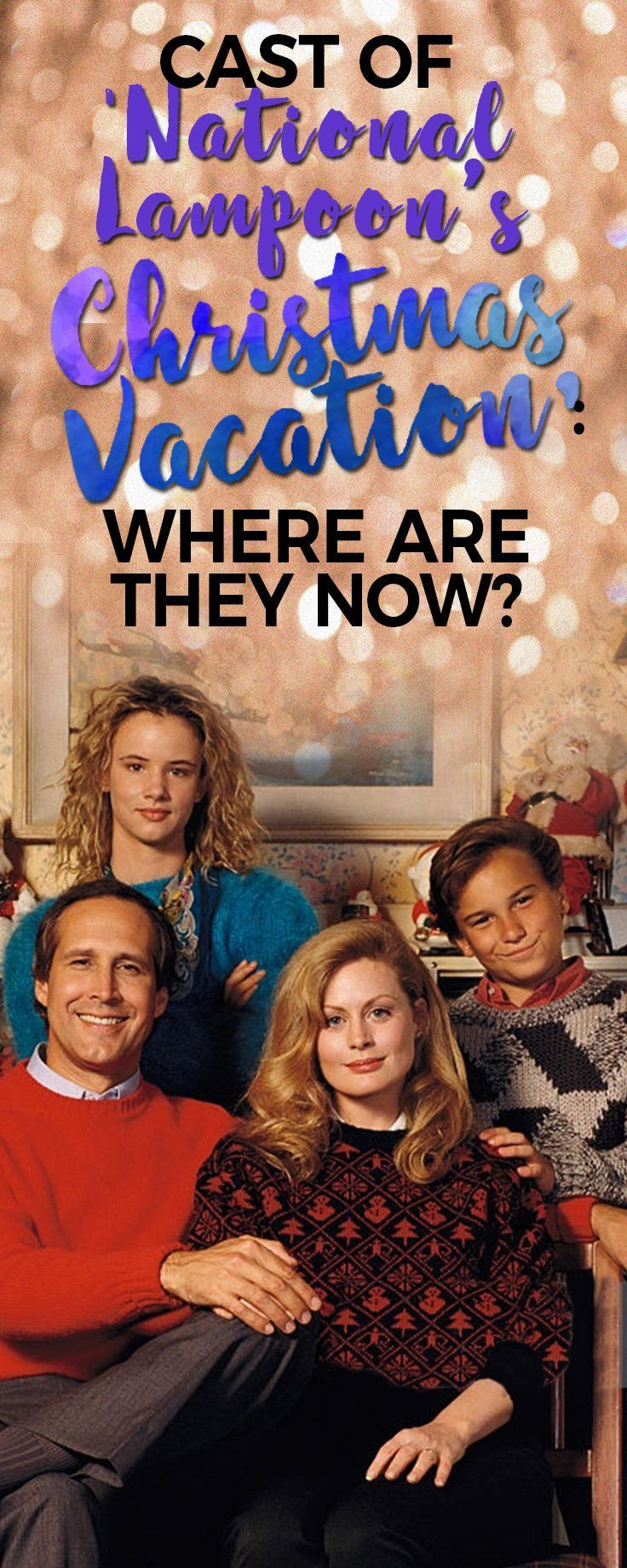 We may wonder where could these actors and actresses be? Like the old 'National Lampoons Christmas Vacation' cast. Take a look and find out. #homeimprovementcast,