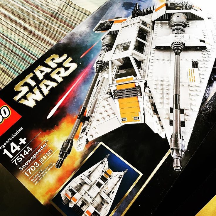 It has arrived #lego #snowspeeder #legosnowspeeder #starwars #starwarslego #disney #buildingtime #75144