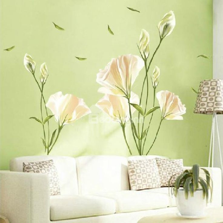 13 best Flower Wall Stickers images on Pinterest | Flower wall ...