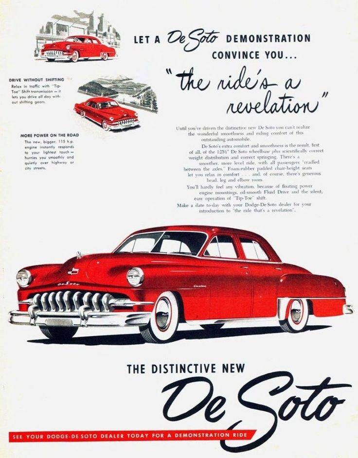 1951 De Soto ad