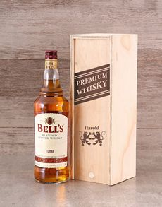 Personalised Gifts For Men: Personalised Premium Whisky Crate!