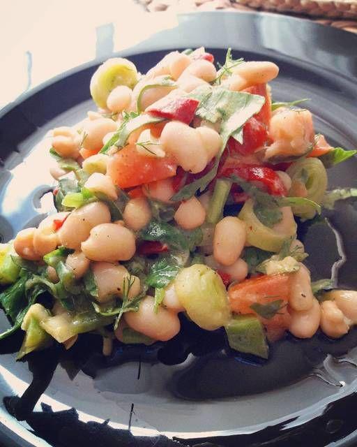 #Σαλάτα #φασόλια βινεγκρέτ #cookpadgreece