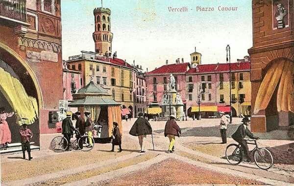 Disegno: Piazza Cavour