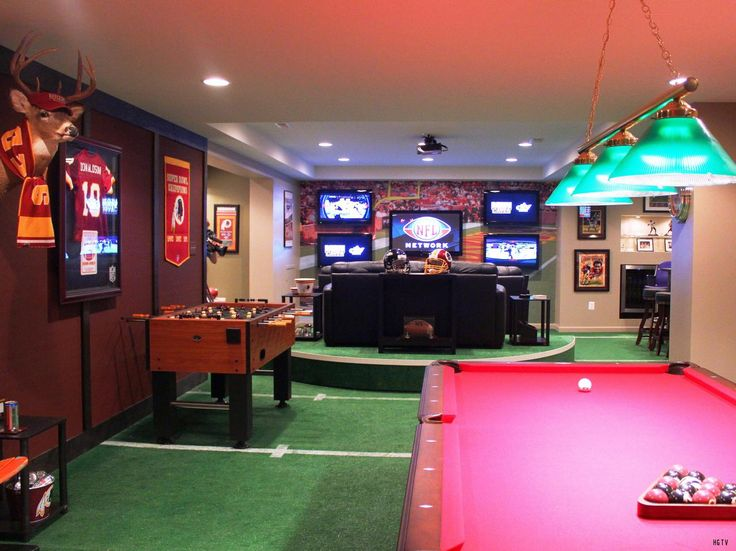 10 MustHave Items For The Ultimate Man Cave Football