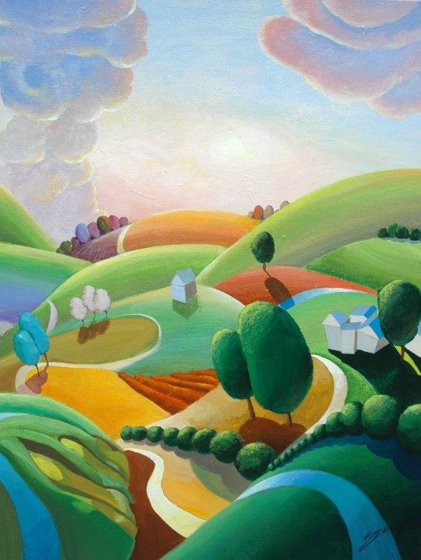 Landscape Paintings 15 best Landscape Paintings images