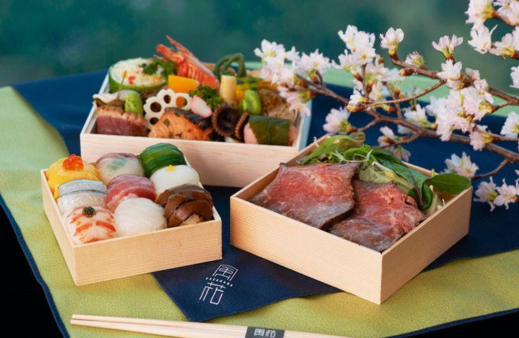 桜の下で食べたい、ホテルのお花見弁当5選   GQ JAPAN