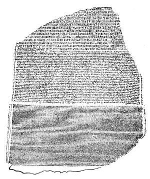 Discover the Code-Breaking History of the Rosetta Stone: Rosetta Stone. OPEN to read history of