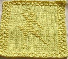 Knit Dishcloth Patterns @ knittedkitty.com