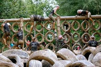 The Nuts Challenge is approximately a 7k relentless obstacle course with a country mile to start. It is located in Dorking, Surrey, and is designed to push the individual to the limit. This course is owned and run by ex parachute regiment soldiers who take part in challenges around the world.