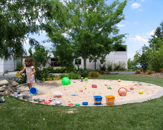 Kids Play Sandbox Design Ideas, Pictures, Remodel, And Decor