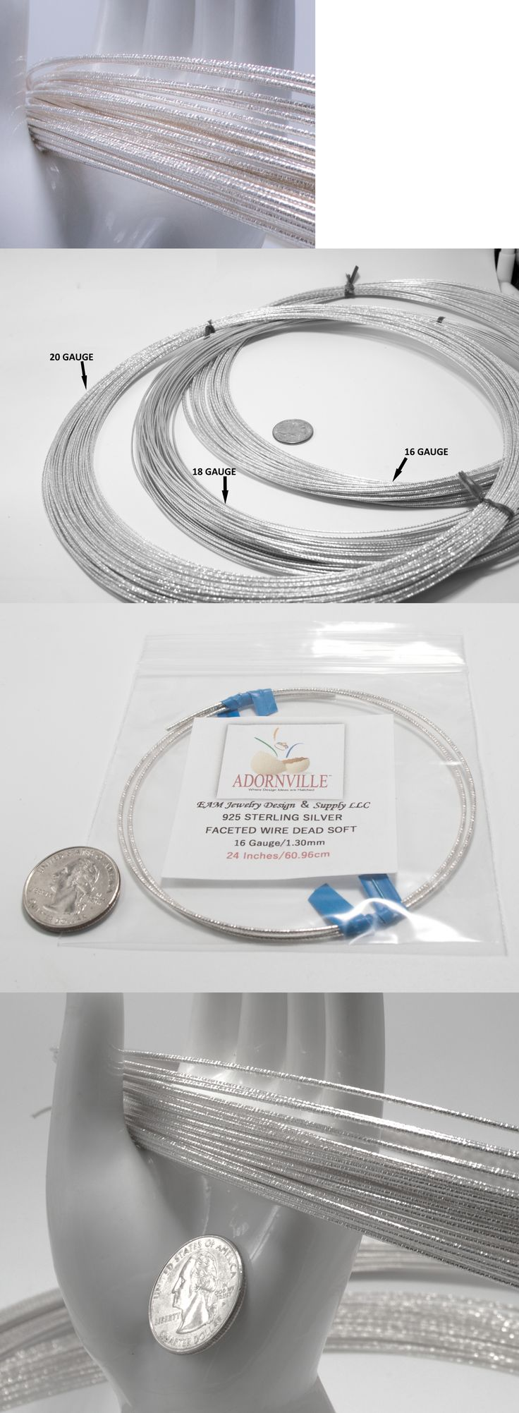 Wire 67714: 10K Yellow Solid Gold 22G Round Wire Ds - 1 Foot BUY IT ...