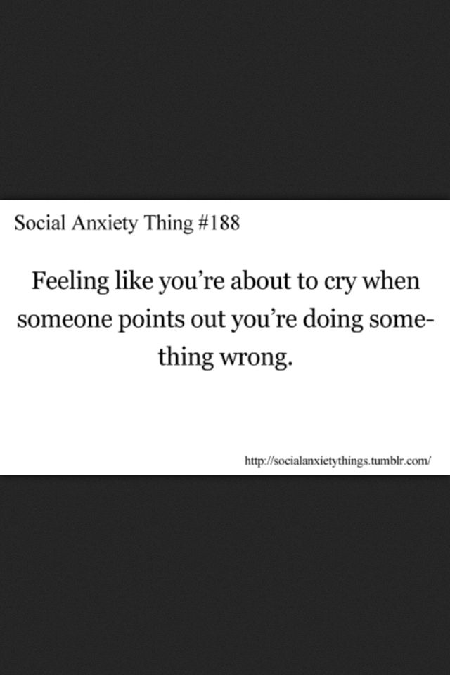 Social anxiety thing quotes