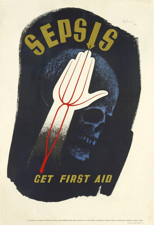 Sepsis Get First Aid 1943 Pat Keely Patrick Cokayne Keely