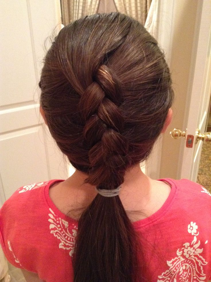easy braids for school - photo #36