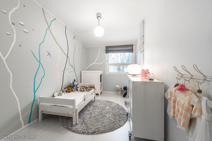 Myytävät asunnot, Kallioniementie 5 D, Helsinki #oikotieasunnot #lastenhuone #sisustus