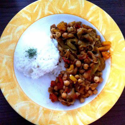 Nouilles de courgette, sauce Thaï à la cacahuète - Zucchini noodles with Thai-style peanut sauce