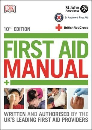 New 10th Edition First Aid Manual with new updated procedures #learnfirstaid | In The Playroom