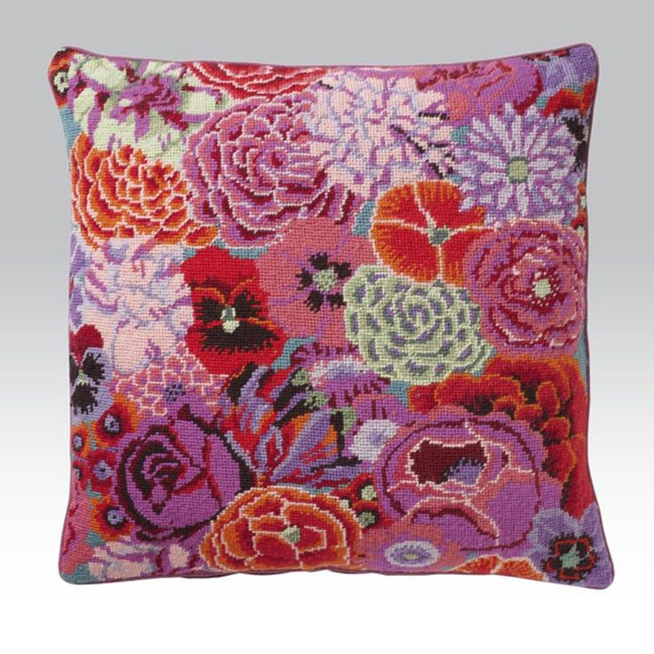 Needlepoint Pillow Decoration Crossword : 85 best images about Kaffe Fassett on Pinterest Life in colour, Rowan and Quilt