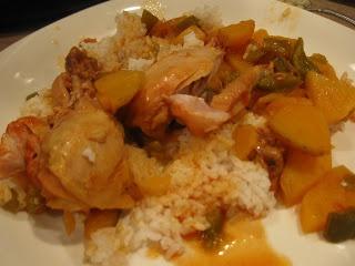 Crock Pot Cuban Chicken Fricase, Easy meal!