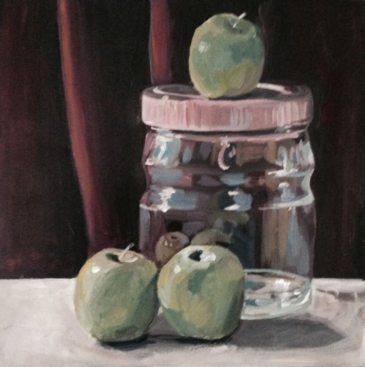 Jar and Apples