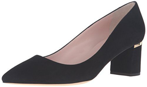 kate spade new york Women's Milan Too Dress Pump, Black, 10 M US