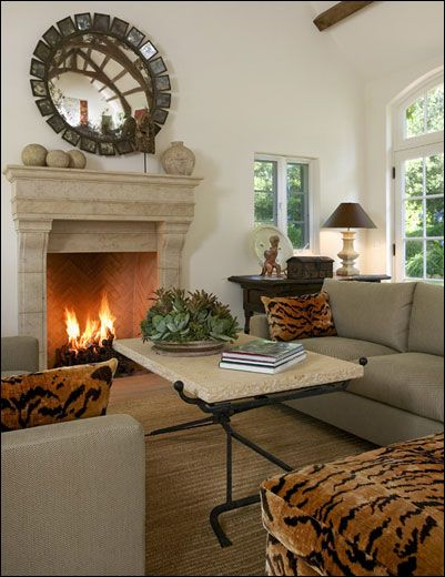Ann James Interior Design | Art Collector's Residence