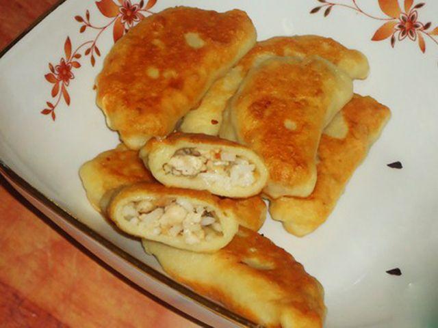 Вкуснотища!: Жареные пельмени из картофельного теста