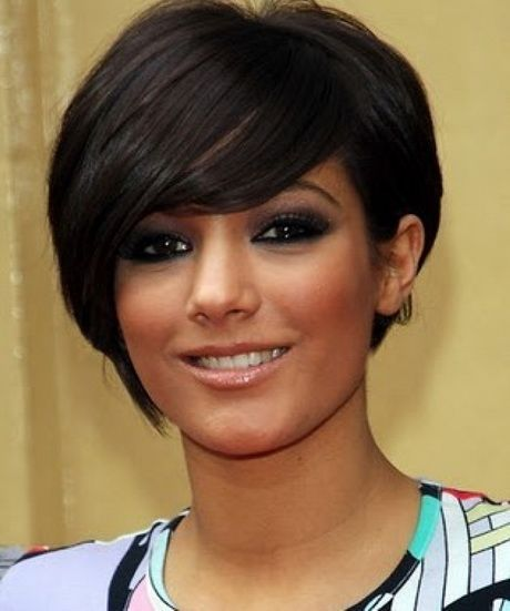Short Hairstyles For Round Faces Black Women Makeup Ideas