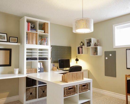 Diseño de Interiores & Arquitectura: 40 Ideas Para Diseñar Tu Oficina En Casa
