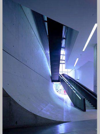 Architect Zaha Hadid Rosenthal Center For Contemporary Arts Cincinnati Ohio USA ArchitectsArchitecture Interior