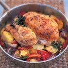 Jamie Oliver: in de pan gebraden kip met zoetzure saus recept - Kip - Eten Gerechten - Recepten Vandaag