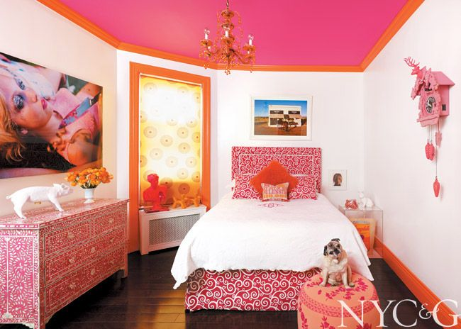 A Style Diva Jazzes up Her Carnegie Hill Digs with All Her Favorite Things310 best Teen Retreat images on Pinterest   Bedrooms  Bedroom  . Girl Bedroom Design 2014. Home Design Ideas