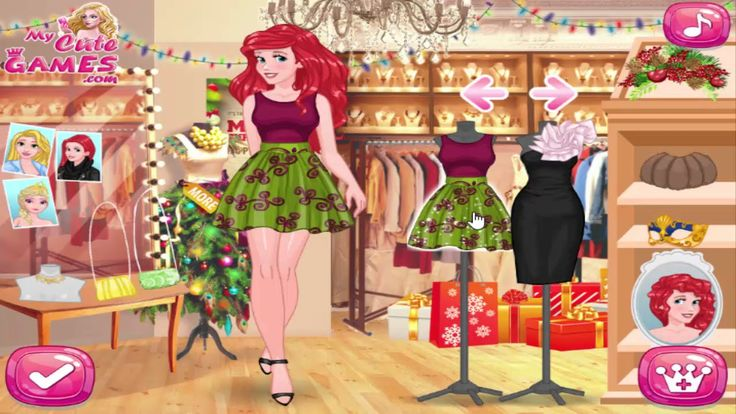 Dress Up Games For Girls Princesses New Year Fashion Show