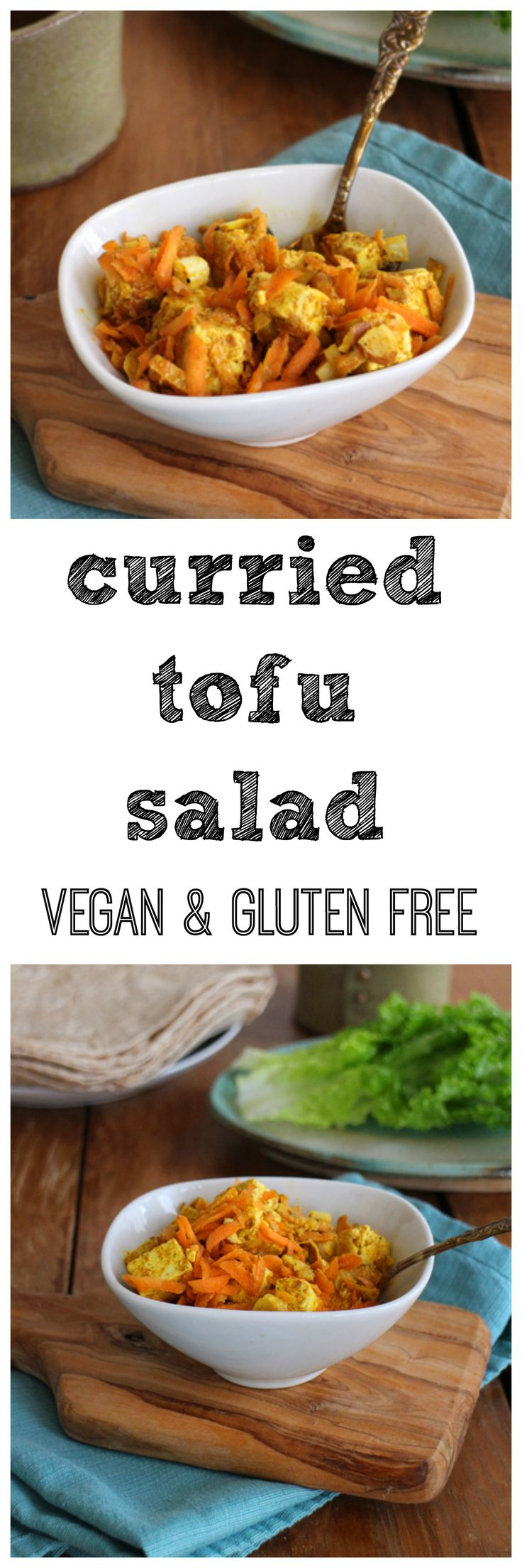 This tasty curried tofu salad is delicious as a side, in a sandwich, or stuffed…