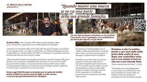 Materie prime e produttori di fiducia.. Giuliano Piffer si racconta a #pretto! #gelatoarteitaliana #ilmegliodellanatura #meterieprime #qualtà