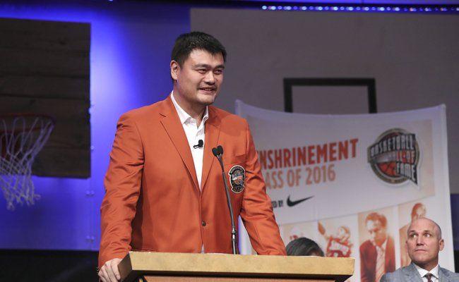 Экс-баскетболист Хьюстон Рокетс Яо Мин стал послом Китая на Марсе - РБК