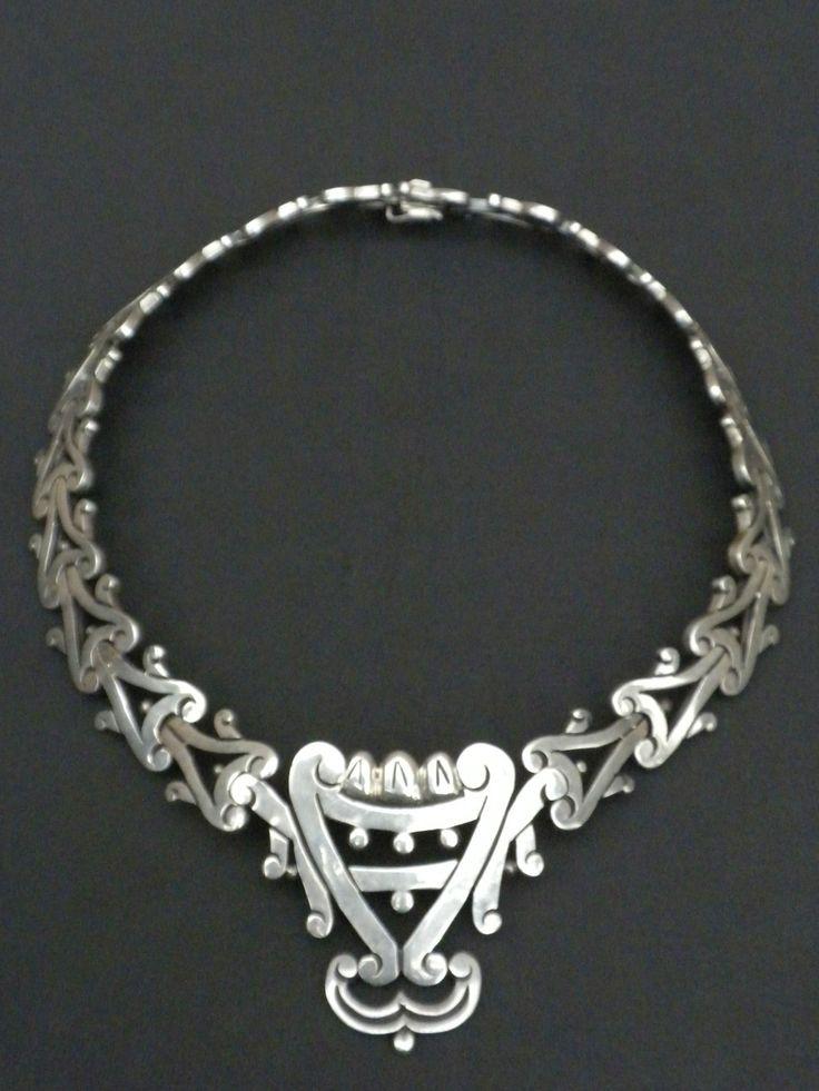 Vintage Necklace | Los Ballesteros.  Sterling silver.
