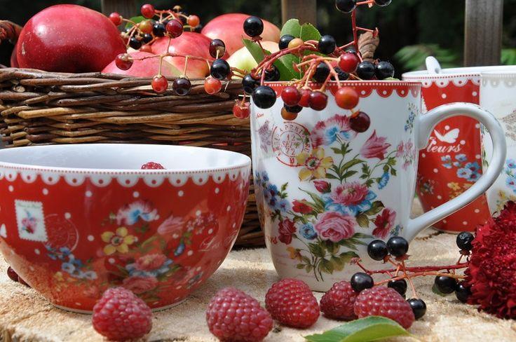 porcelana Les Fleurs